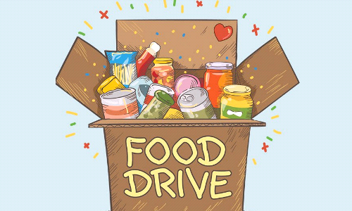 Canned Food Drive/ Free Dress Day