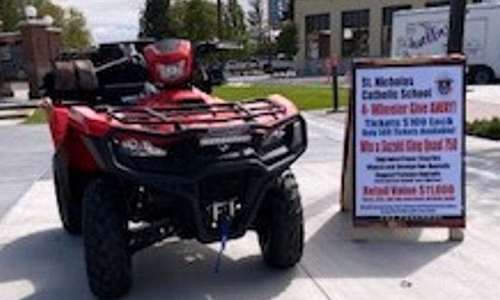 Win A 4 Wheeler
